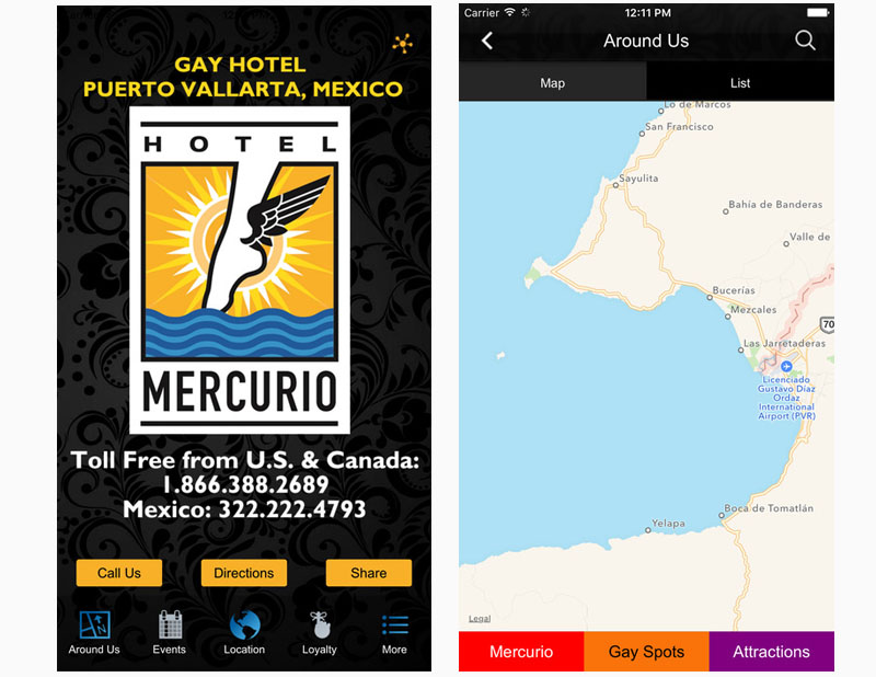Hotel Mercurio Mobile App